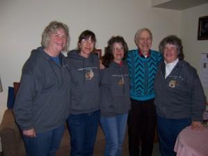 Nancy, Ruth, Linda, John Schnabel, Denise