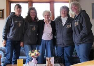Ruth, Linda, Marge Ward, Denise & Nancy